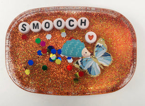 Smooch - Small Shower Art - READY TO SHIP