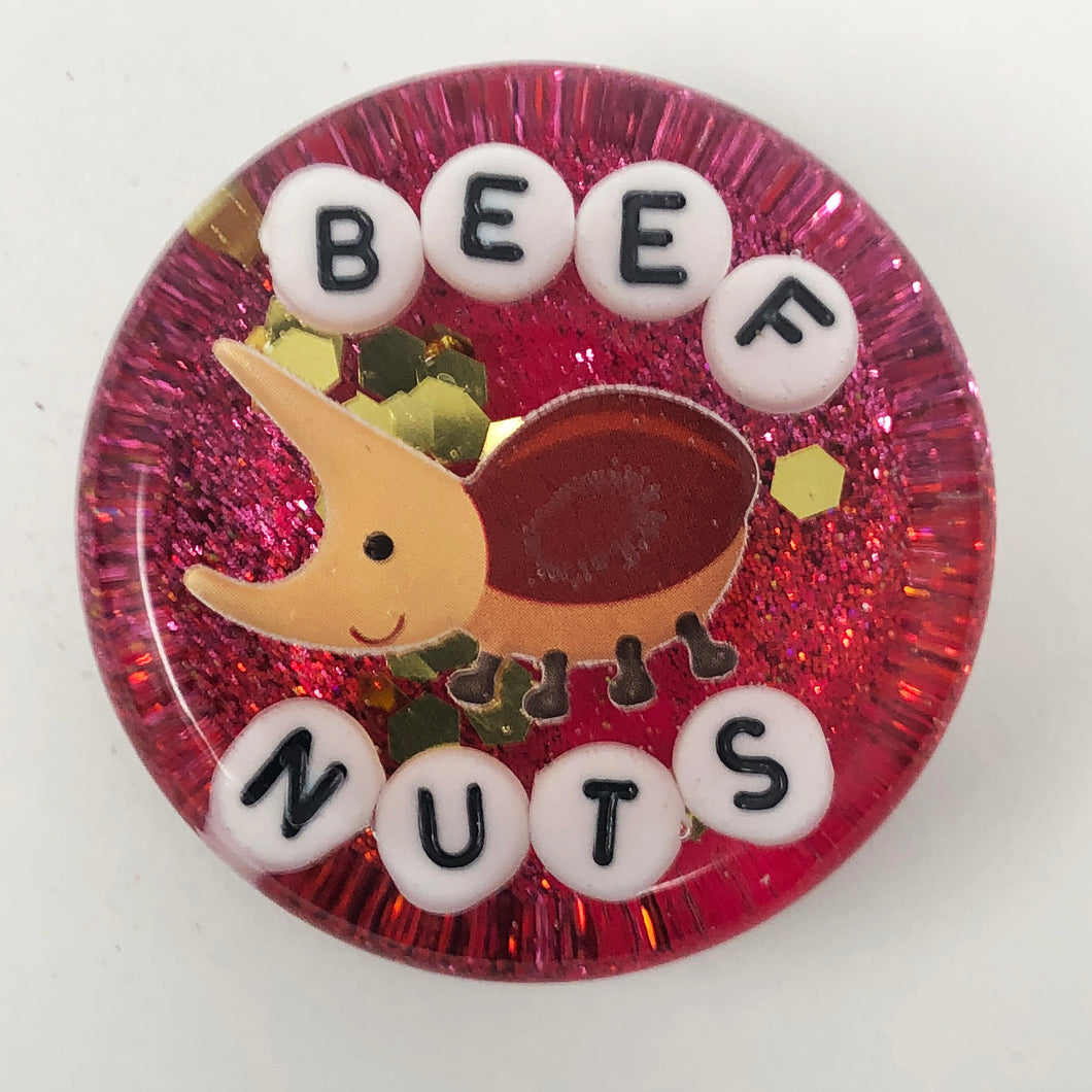 Beef Nuts - Shower Art - READY TO SHIP