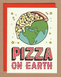 Card - Pizza On Earth