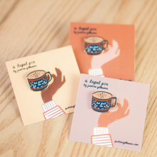 Load image into Gallery viewer, Enamel Pin - But First Tea