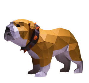 Paper Craft - Bulldog