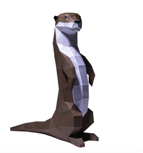 Paper Craft - Otter