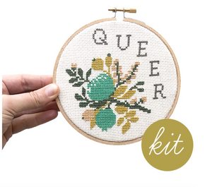 Cross Stitch Kit: Queer