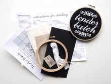 Load image into Gallery viewer, Cross Stitch Kit: Tender Butch