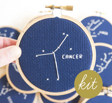 Load image into Gallery viewer, Cross Stitch Kit: Zodiac Cancer