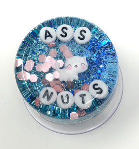 Ass Nuts - Shower Art - READY TO SHIP