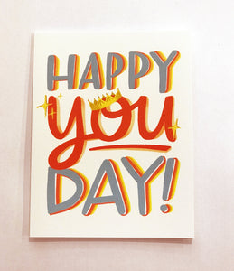 Card - Happy You Day