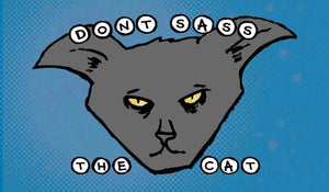 3x2 Sticker: Don't Sass the Cat - Pack of 10