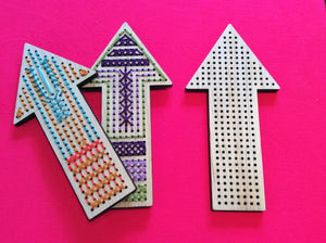 SALE Craft Supply: Arrow to Stitch - Small