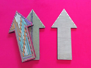 SALE Craft Supply: Arrow to Stitch - Large