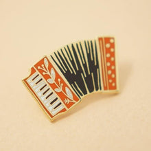 Load image into Gallery viewer, Enamel Pin - Accordion