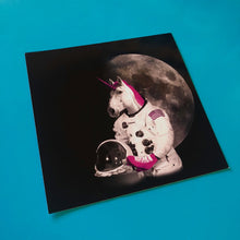 Load image into Gallery viewer, 4x4 Sticker - Astronaut Unicorn