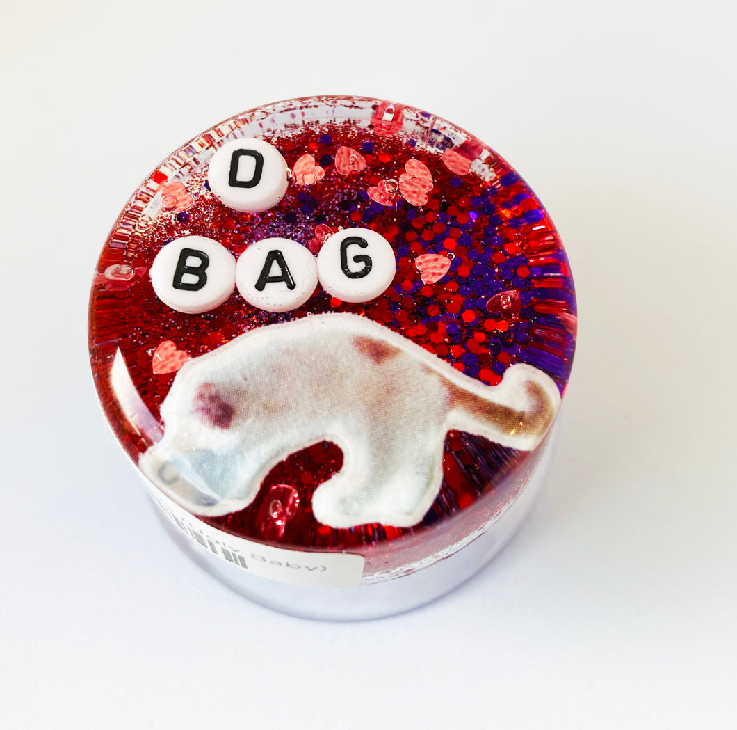 D Bag - Shower Art - READY TO SHIP