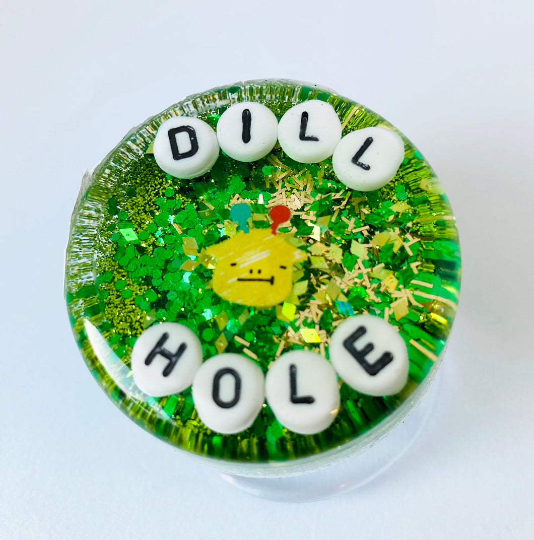 Dill Hole - Shower Art - READY TO SHIP
