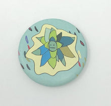 "Load image into Gallery viewer, 1.25"" Button - Sentient Succulents (Three-Pack)"