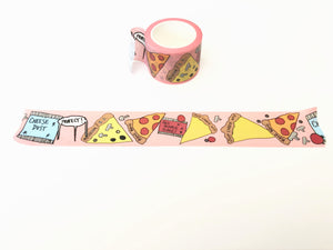 Washi Tape - Pizza Party Pattern