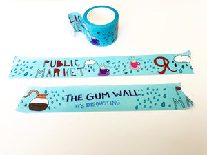 Washi Tape - Seattle Pattern