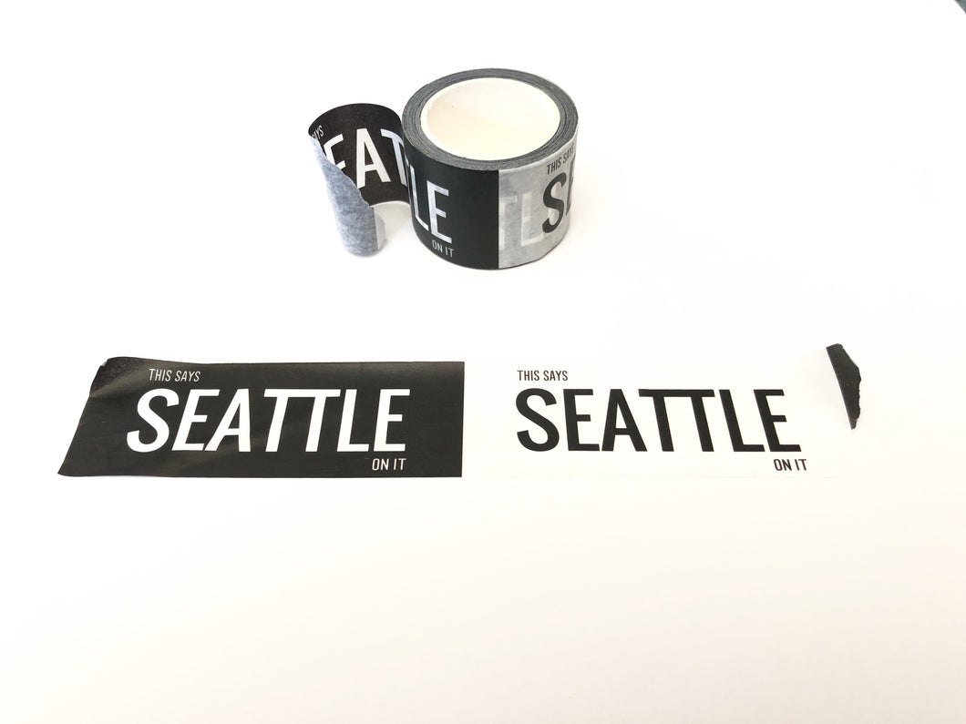 Pike Place Market Donation: Set of Three Washi Tape - This Says Seattle On It