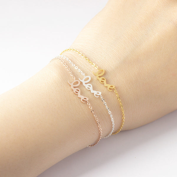 Personalized Signature Bracelets - Del Valle