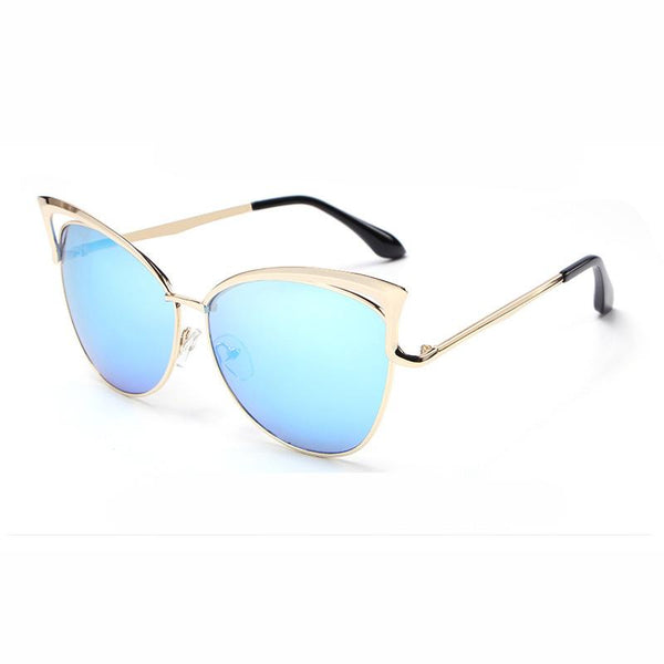 HD Polarized Sexy Cat Eye Woman Sunglasses - Del Valle