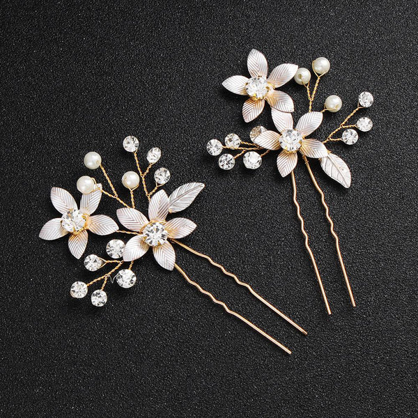Lily Bridal Hair Pin - Del Valle