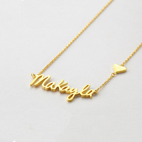 Personalized Name Necklace - Del Valle