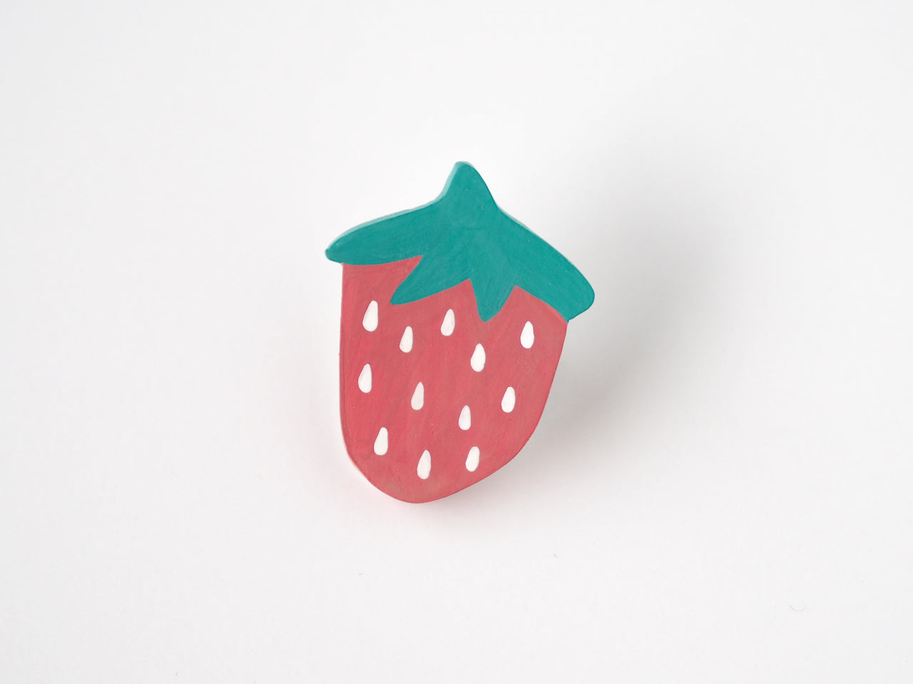 Strawberry Brooch Pin