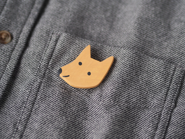 Dog Brooch Pin