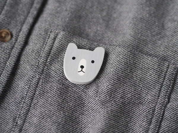 Bear Brooch Pin