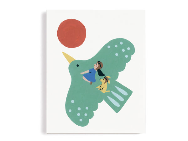 Fly Me Away Whimsical Giclee Print