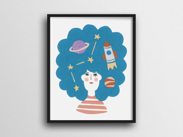 Explore Your Imagination Giclee Print