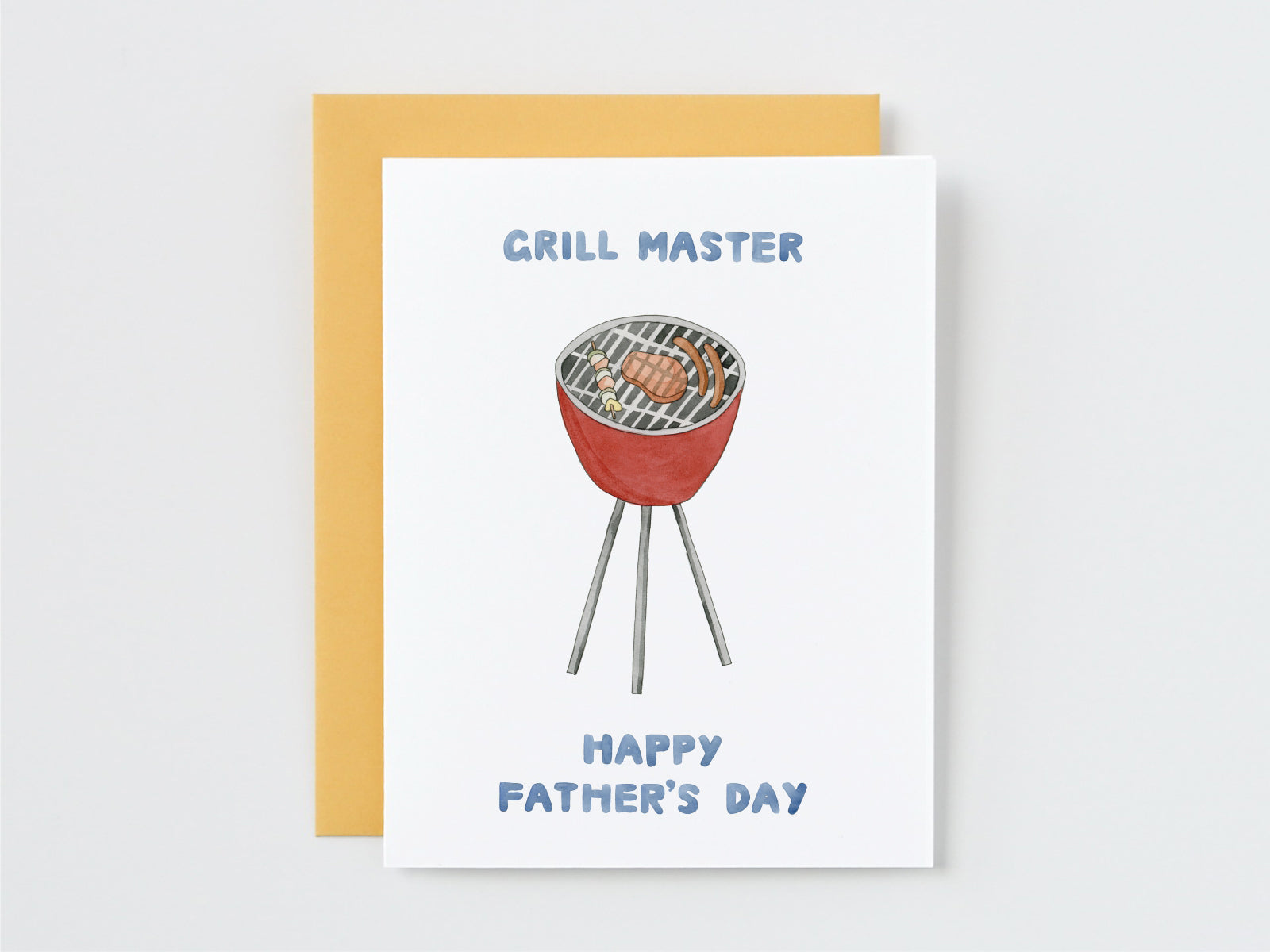 Grill Master Father's Day Card