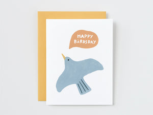Happy Birdsday Birthday Card