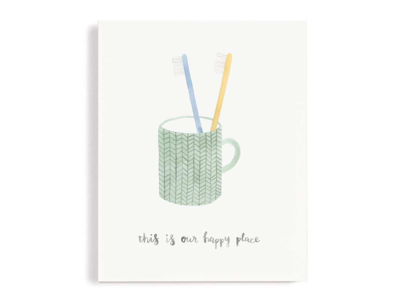 This Is Our Happy Place Giclee Print