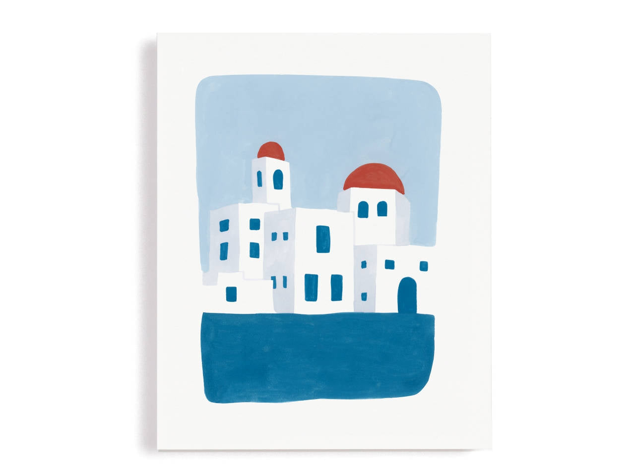 Greek Shore Giclee Print