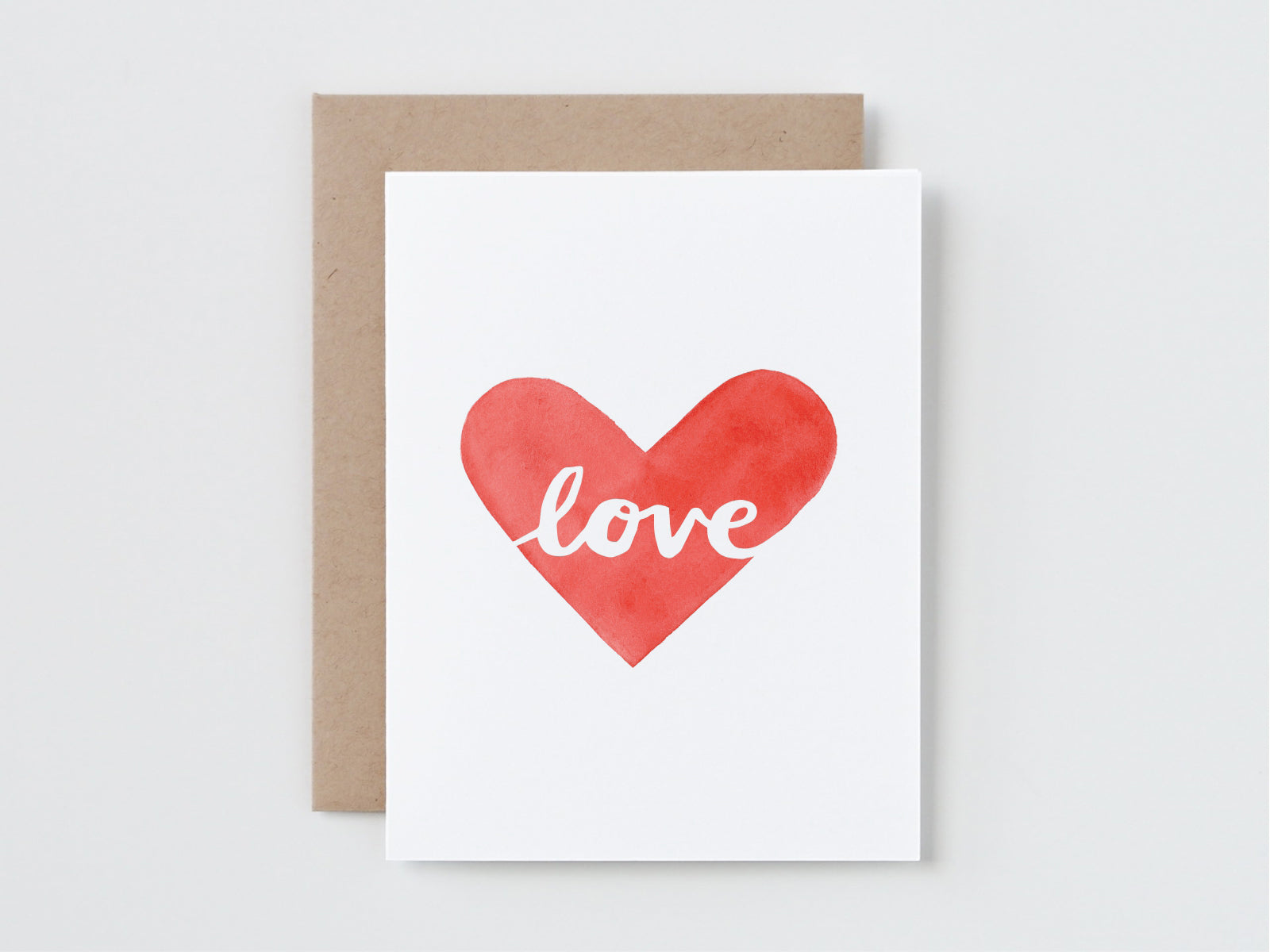 Love in a Heart Card