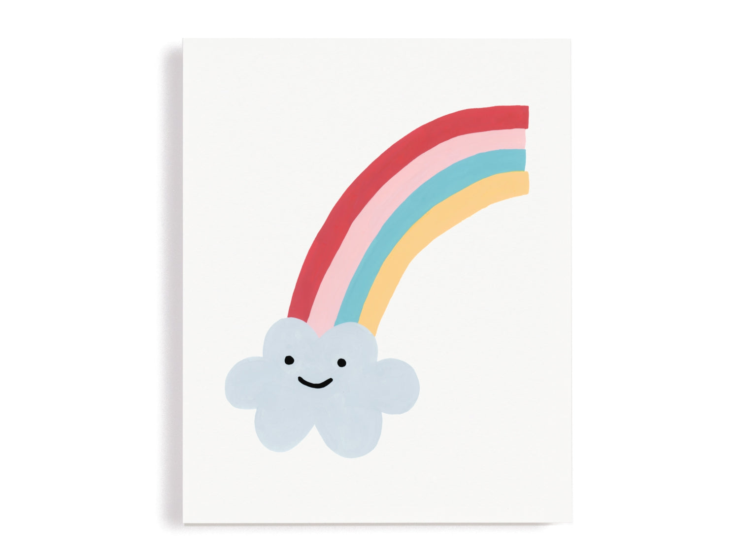 Rainbow Cloud Giclee Print