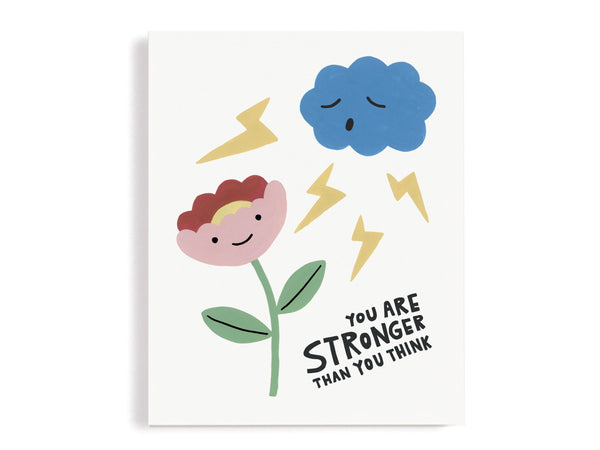 You Are Stronger Than You Think Giclee Print