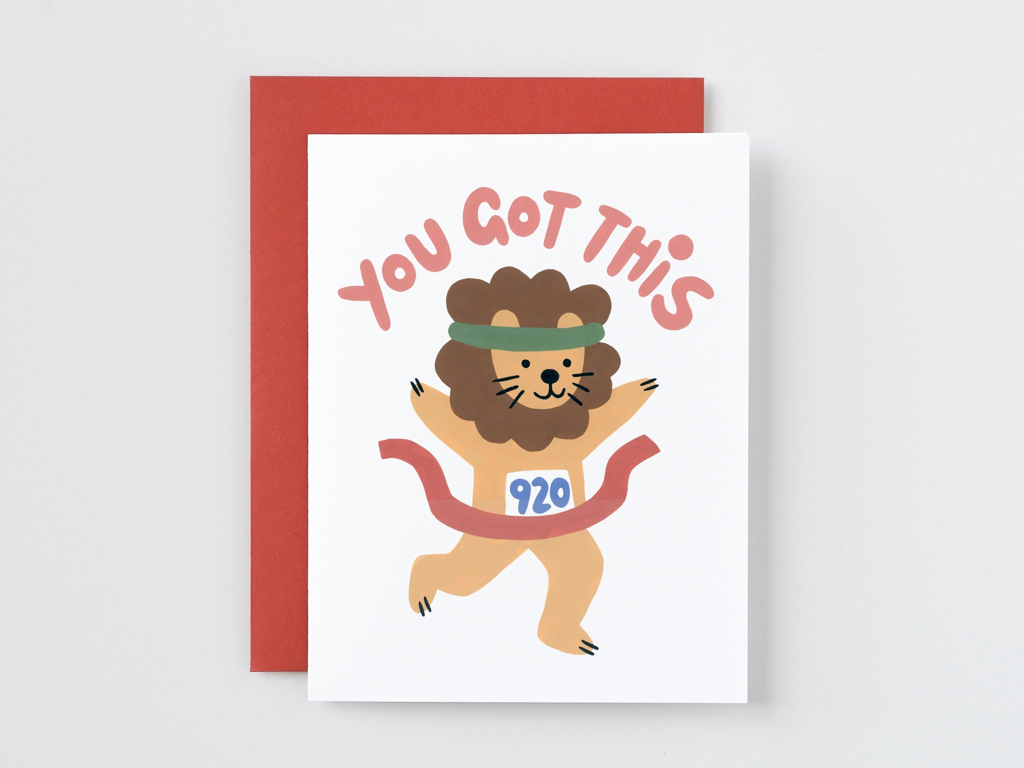 You Got This Lion Card