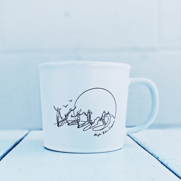 party wave coffee mug