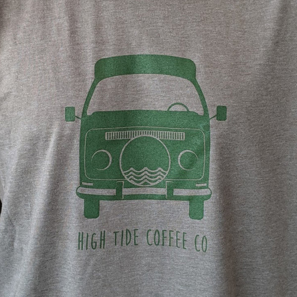 vw bus adult crew tee