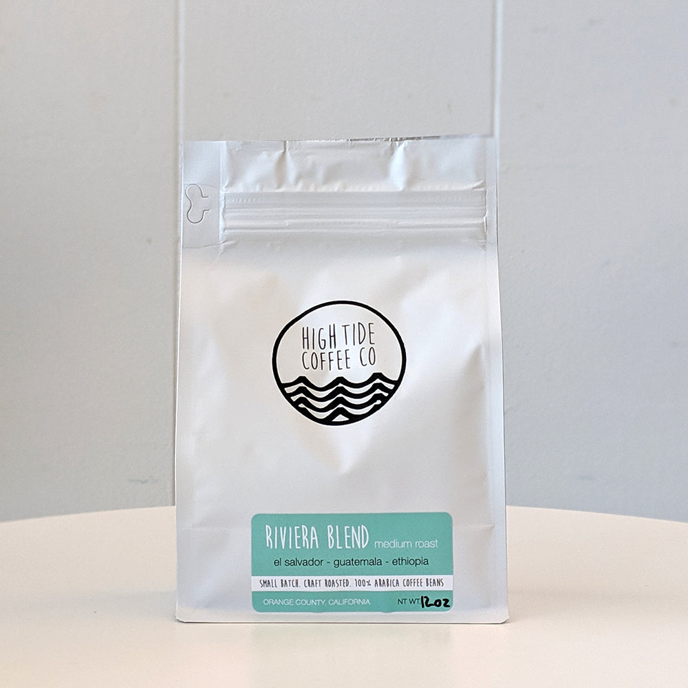 Riviera Blend Medium Roast Coffee from High Tide Coffee Co