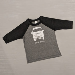 vw bus toddler raglan