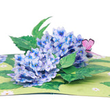 Liif Hydrangea Pop Up Card