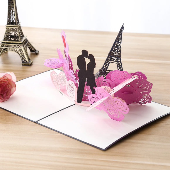 Liif Love Couple Pop Up Card