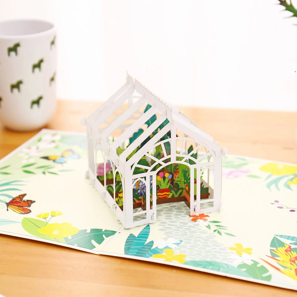 Liif Greenhouse Pop Up Card