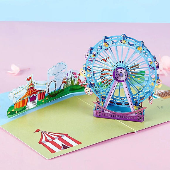 Amusement Park Pop UP Card