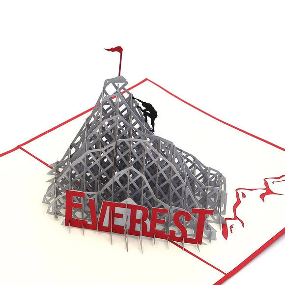 Everest Climb 3D pop up card