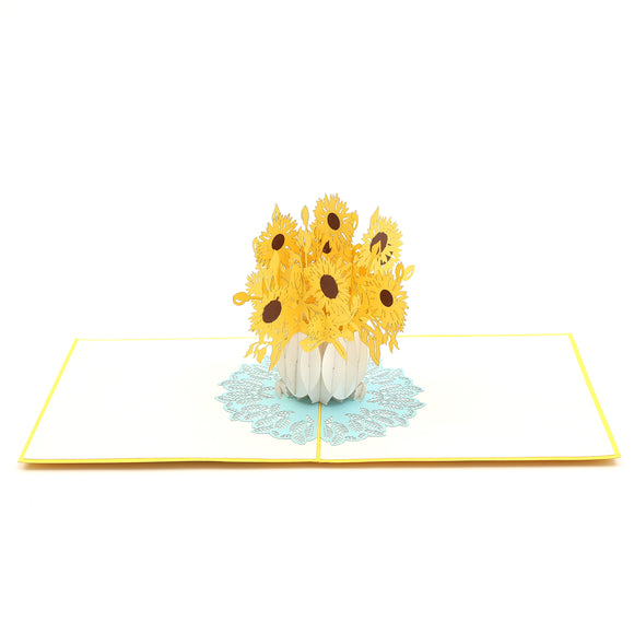 Sunflower Surprise Pop Up Card