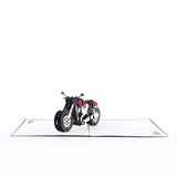 Motorcycle Mania Pop-up Card